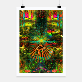 Thumbnail image of Forest Mind Expansion (visionary) Poster, Live Heroes