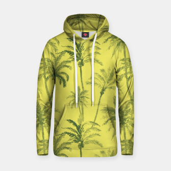 Miniaturka Palm trees Cotton hoodie, Live Heroes