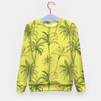 Miniaturka Palm trees Kid's sweater, Live Heroes