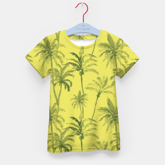 Miniaturka Palm trees Kid's t-shirt, Live Heroes