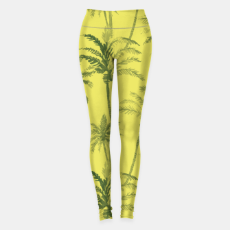 Miniaturka Palm trees Leggings, Live Heroes