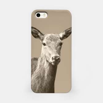 Thumbnail image of Deer on Sepia #1 #decor #art iPhone-Hülle, Live Heroes
