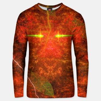 Thumbnail image of Fiery Autumn Fox Cotton sweater, Live Heroes