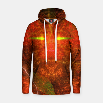 Thumbnail image of Fiery Autumn Fox Cotton hoodie, Live Heroes