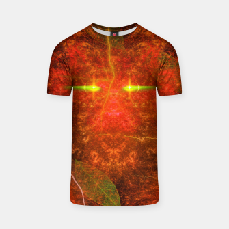 Thumbnail image of Fiery Autumn Fox T-shirt, Live Heroes