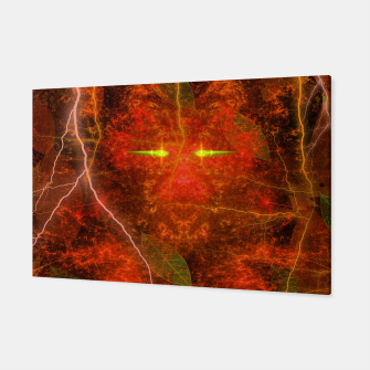 Thumbnail image of Fiery Autumn Fox Canvas, Live Heroes