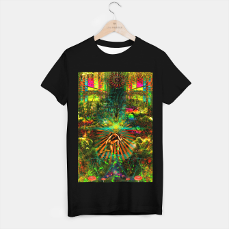 Thumbnail image of Forest Mind Expansion (visionary) T-shirt regular, Live Heroes