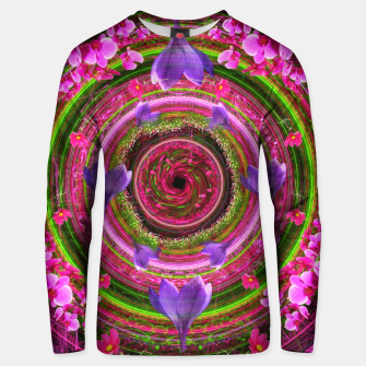Thumbnail image of Flower Girl Whirlpool Cotton sweater, Live Heroes