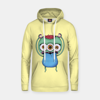 Thumbnail image of Brain Cotton hoodie, Live Heroes