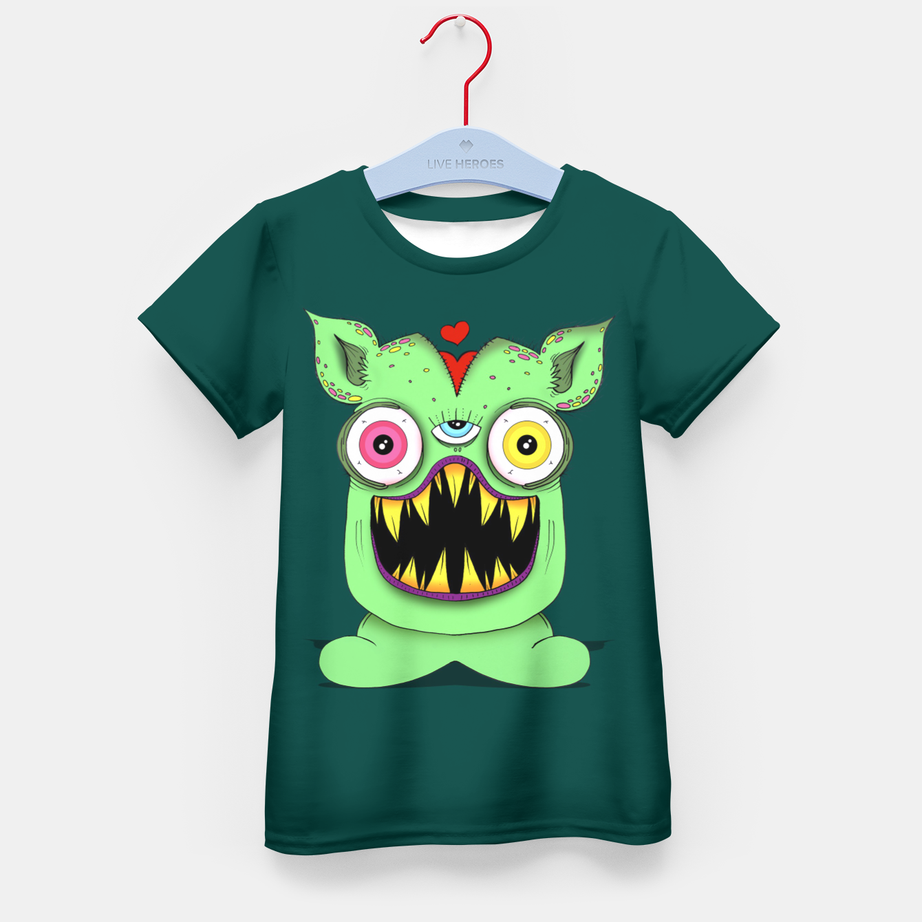 Image of Monster Kid's t-shirt - Live Heroes