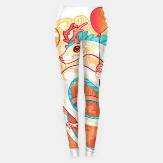 Miniatur Up in the Clouds Leggings, Live Heroes