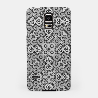 Thumbnail image of Geometric Stylized Floral Print Samsung Case, Live Heroes