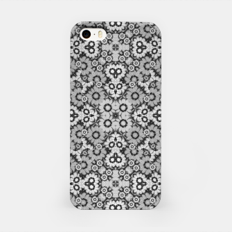 Thumbnail image of Geometric Stylized Floral Print iPhone Case, Live Heroes