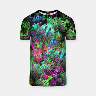 Thumbnail image of Alien Dragonfly Orchid Colony (abstract) T-shirt, Live Heroes