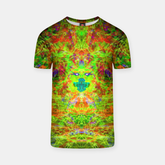 Thumbnail image of Fire Breather (Acid Breath) (abstract) T-shirt, Live Heroes