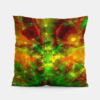 Thumbnail image of Crab Stardust- The Mind Opens (abstract, visionary, fractal) Pillow, Live Heroes