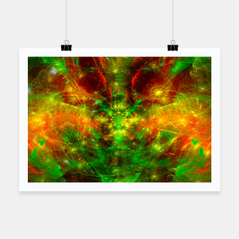 Thumbnail image of Crab Stardust- The Mind Opens (abstract, visionary, fractal) Poster, Live Heroes