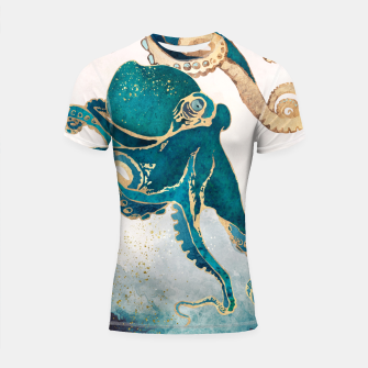 Thumbnail image of Underwater Dream V Shortsleeve rashguard, Live Heroes