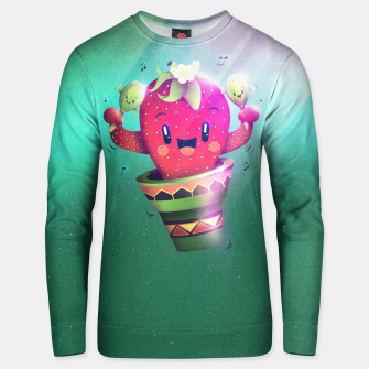 Thumbnail image of Strawberry Cactus Cotton sweater, Live Heroes