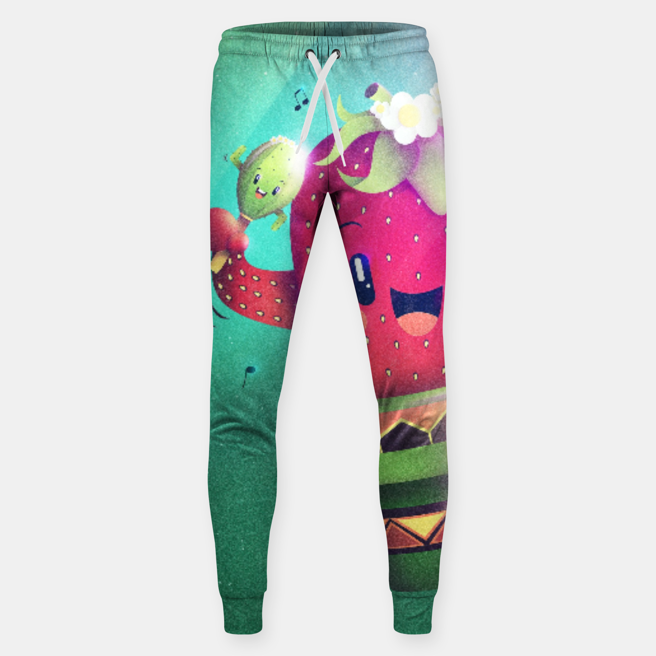 Image of Strawberry Cactus Cotton sweatpants - Live Heroes