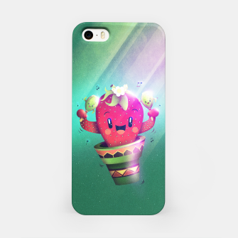 Miniatur Strawberry Cactus iPhone Case, Live Heroes
