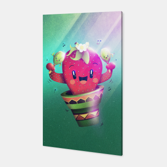 Strawberry Cactus Canvas thumbnail image