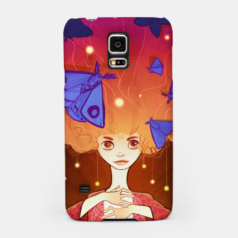 Miniature de image de Moths to a Flame Samsung Case, Live Heroes