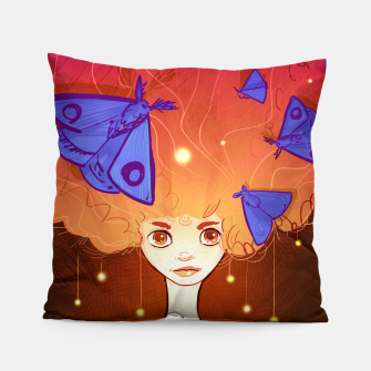 Miniature de image de Moths to a Flame Pillow, Live Heroes