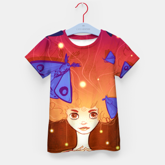 Miniature de image de Moths to a Flame Kid's t-shirt, Live Heroes
