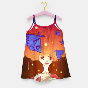 Miniature de image de Moths to a Flame Girl's dress, Live Heroes