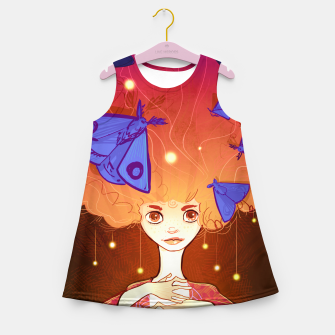 Miniature de image de Moths to a Flame Girl's summer dress, Live Heroes