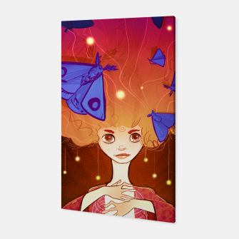 Miniature de image de Moths to a Flame Canvas, Live Heroes