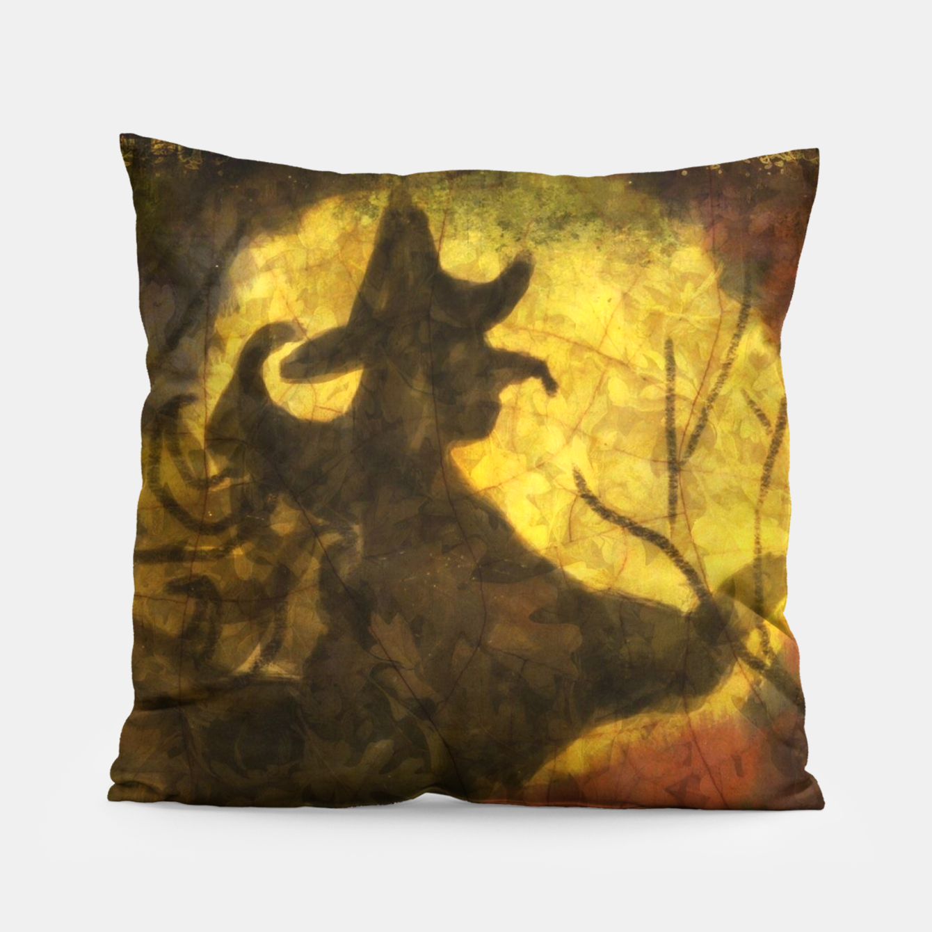 Witch on Texture With Moon Pillow, Live Heroes