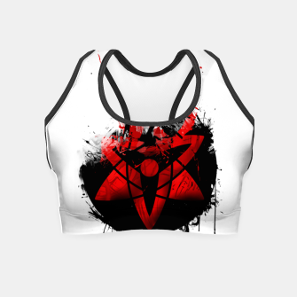 Naruto - Eternal Mangekyou Sharingan Crop Top Bild der Miniatur