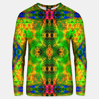 Thumbnail image of Electric Skull Pattern III (fluorescent yellow) Cotton sweater, Live Heroes