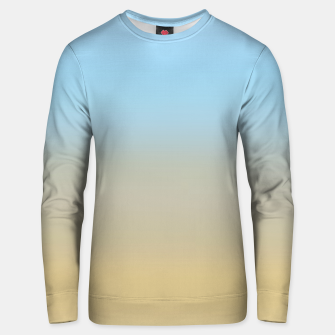 Abstract ombre ocean beach Unisex sweater thumbnail image