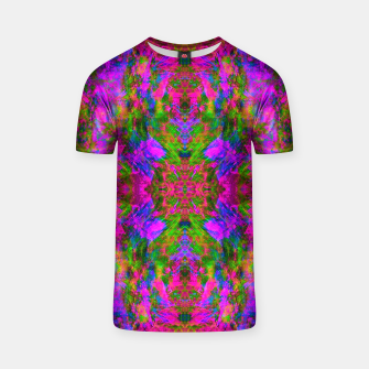 Thumbnail image of Floral Madness III (abstract, psychedelic) T-shirt, Live Heroes