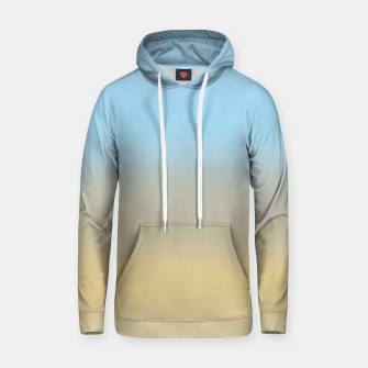 Abstract ombre ocean beach Hoodie thumbnail image