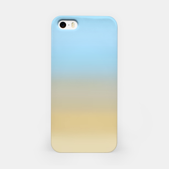 Abstract ombre ocean beach iPhone Case thumbnail image