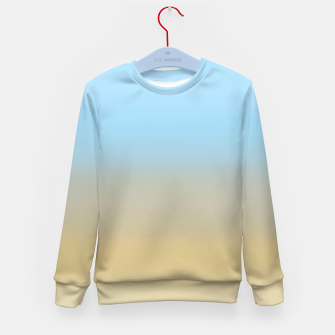 Abstract ombre ocean beach Kid's sweater thumbnail image