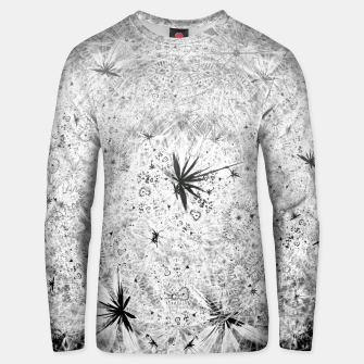 Thumbnail image of Snowball (winter, abstract, black and white) Cotton sweater, Live Heroes
