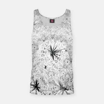 Thumbnail image of Snowball (winter, abstract, black and white) Tank Top, Live Heroes