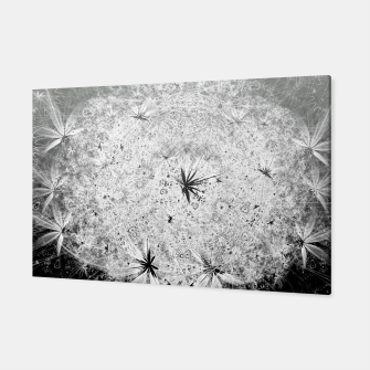 Thumbnail image of Snowball (winter, abstract, black and white) Canvas, Live Heroes