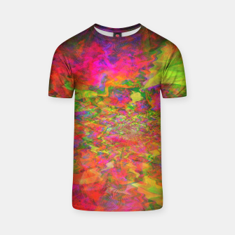 Thumbnail image of Psychedelic Juicy Bloom T-shirt, Live Heroes