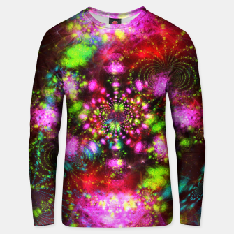 Miniaturka Zest Tunnel (abstract, psychedelic design) Cotton sweater, Live Heroes