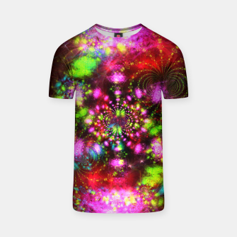 Miniaturka Zest Tunnel (abstract, psychedelic design) T-shirt, Live Heroes