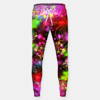 Miniaturka Zest Tunnel (abstract, psychedelic design) Cotton sweatpants, Live Heroes