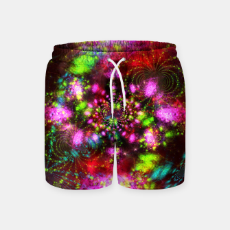 Miniaturka Zest Tunnel (abstract, psychedelic design) Swim Shorts, Live Heroes