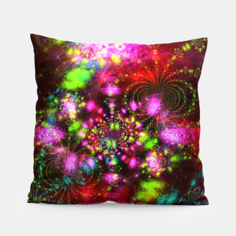 Miniaturka Zest Tunnel (abstract, psychedelic design) Pillow, Live Heroes