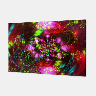 Miniaturka Zest Tunnel (abstract, psychedelic design) Canvas, Live Heroes